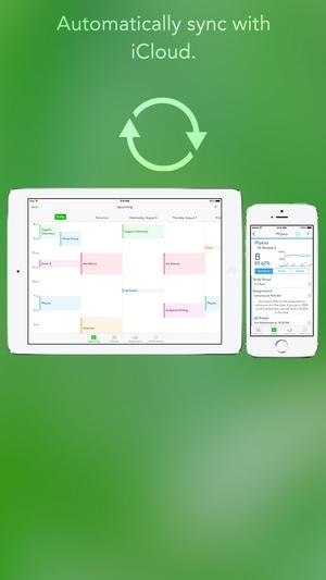 Screenshot Study Cal on iPhone