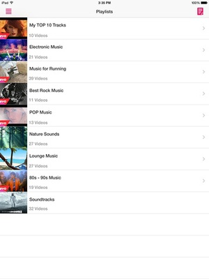 Screenshot BombTube for YouTube on iPad