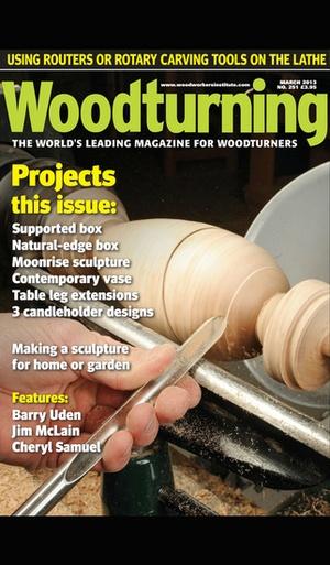 Screenshot Woodturning on iPhone
