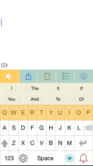 Screenshot Predictable on iPhone