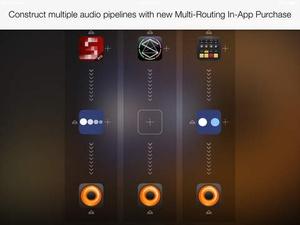 Screenshot Audiobus on iPad