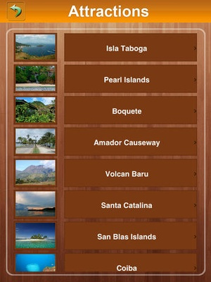 Screenshot Panama Offline Travel Guide on iPad