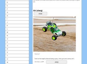 Screenshot RC Cheat Sheets on iPad