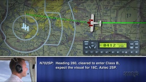 Screenshot VFR Pilot Communications on iPhone