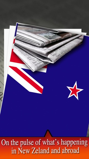Screenshot NZ newspapers on iPhone