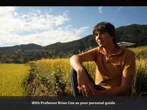 Screenshot Brian Cox's Wonders of Life on iPad