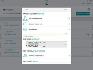 Screenshot Voyages on iPad