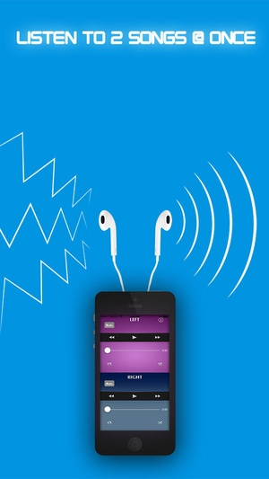 Screenshot Dual Music Player  on iPhone