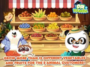 Screenshot Dr. Panda's Veggie Garden on iPad