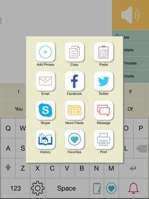 Screenshot Predictable on iPad