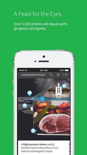 Screenshot Modernist Cuisine at Home on iPhone
