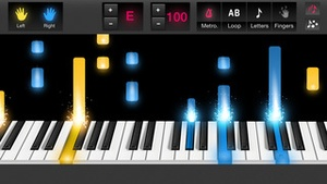 Screenshot Piano Tutorial for Popular Songs by OnlinePianist on iPhone