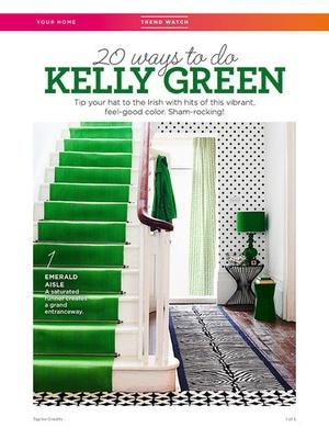 Screenshot Good Housekeeping Magazine US on iPad