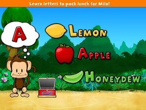 Screenshot Monkey Preschool Lunchbox on iPad