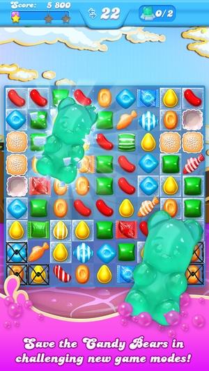 Screenshot Candy Crush Soda Saga on iPhone