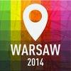 Offline Map Warsaw