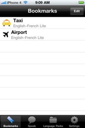 Screenshot English to Chinese Mandarin Simplified Voice Talking Translator Phrasebook EchoMobi Travel Speak LITE on iPhone