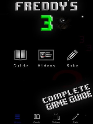 Screenshot Guide for FNAF3 on iPad