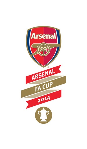 Screenshot Arsenal FA Cup 2014 on iPhone