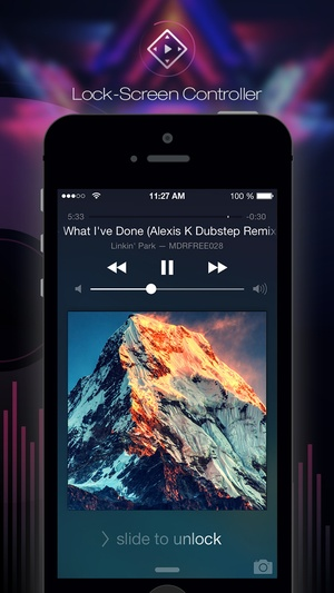 Screenshot Free Music Online and MP3 Player Manager on iPhone
