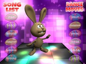 Screenshot Dancing Easter Bunny on iPad