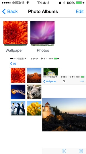Screenshot iExplorer on iPhone