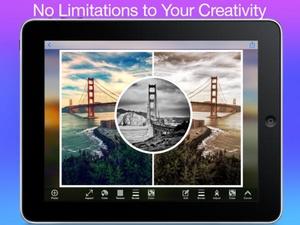 Screenshot Photo Collage Creator on iPad