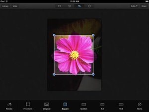 Screenshot Luminance on iPad