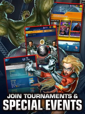 Screenshot Marvel Puzzle Quest on iPad