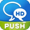 WeChat for Facebook chat with Push HD Pro
