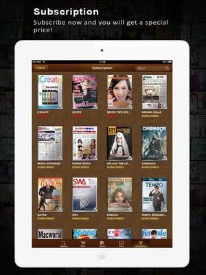 Screenshot Wayang Force Book and Magazine Reader on iPad
