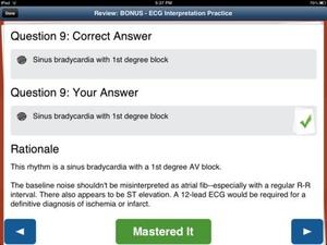 Screenshot Paramedic Review Plus on iPad