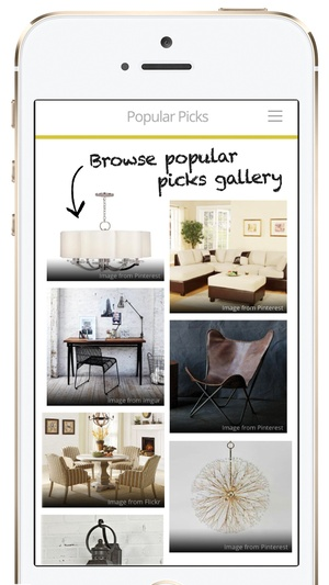 Screenshot LikeThat Décor on iPhone