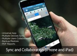 Screenshot Pro Camping Planner on iPad