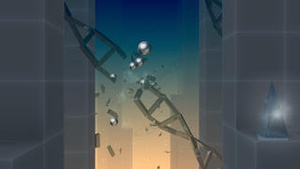 Screenshot Smash Hit on iPhone