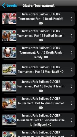Screenshot Guide+Walkthrough for Jurassic Park Builder (Unofficial) on iPhone