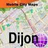 Dijon Street Map