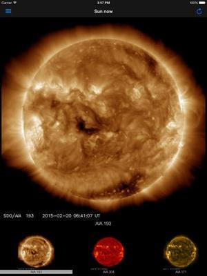 Screenshot Aurora Forecast. on iPad