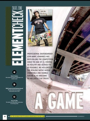 Screenshot Hype Magazine HD on iPad