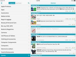 Screenshot Saviry on iPad