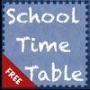 School Timetable Free