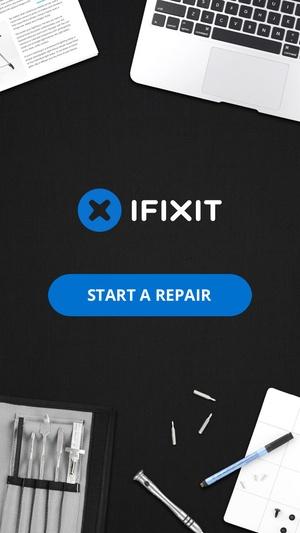 Screenshot iFixit: Repair Manual on iPhone