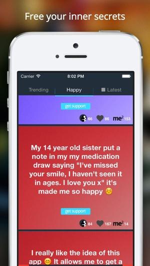 Screenshot Silent Secret: Free your inner secret on iPhone