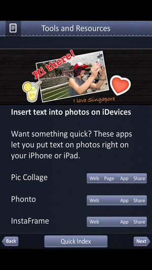 Screenshot Guide Book for Facebook Marketing on iPhone