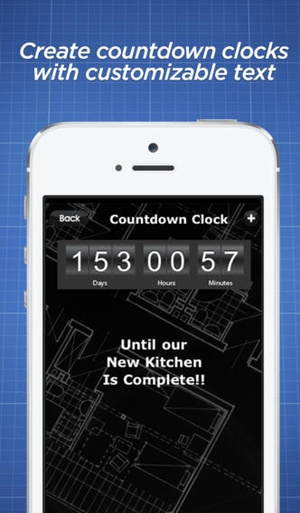 Screenshot Renovation Budget Tracker on iPhone