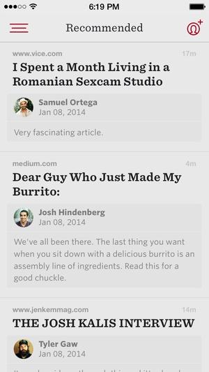Screenshot Readability™ on iPhone
