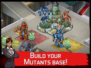 Screenshot Mutants: Genetic Gladiators on iPad
