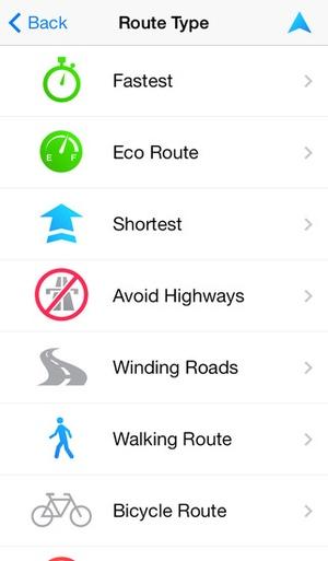 Screenshot TomTom Brazil on iPhone