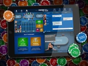 Screenshot Texas Poker on iPad