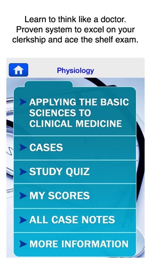 Screenshot Case Files Physiology, McGraw on iPhone